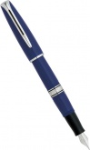 Перьевая ручка Waterman Charleston, Navy Blue CT (перо M)