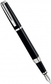 Перьевая ручка Waterman Exception Night & Day, Black ST (Перо F)