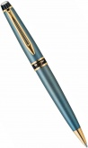 Ручка шариковая Waterman Expert, Silver / Blue GT