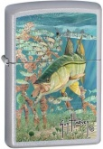 Зажигалка Zippo Guy Harvey Satin Chrome