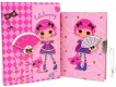 Блокнот с замком ACTION!, Lalaloopsy, тверд. облож., 1 диз., в под. упак. Action!