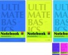 Офис-блокнот ULTIMATE BASICS CAMBRIDGE, ф. А5, 40 л., 4 вида Альт