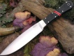 Нож с фиксированным клинком Black Canvas Micarta bloody Basin Spacer Bark River