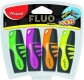 ����� ����������������� FLUO PEP-S POCKET, ������� ���� 1-5��, 4 �� MAPED